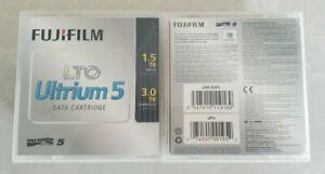 NEW NEVER USED Fujifilm LTO Ultrium 5 1.5TB/3TB Cartridge w/case