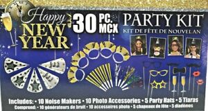 Happy New Year Party Kit for 10 Guests