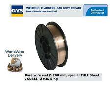 GYS FILO SALDATURA MIG acciaio BOBINA 0.8 mm - 200 5KG SPECIALE thle CUSI 3 per