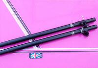 (pair) of  Extendable Speaker Poles 35mm sub satellite poles