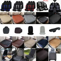 1x Car Front/Rear Seat Protector Pad Cover Warmer Breathable Cushion Accessories