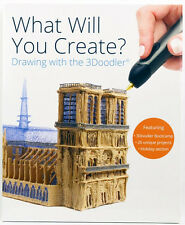 NEW 3Doodler Project Book, 26 Unique step-by-step Projects, Great Xmas Gift