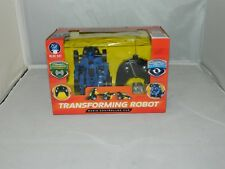 Wireless Radio Controlled Transforming Robot Car Toy Kids 49 MHz