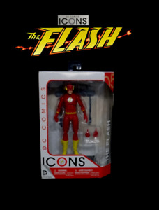 """DC Collectibles Icons Series: THE FLASH 6"""" Justice League Comics Action Figure"""