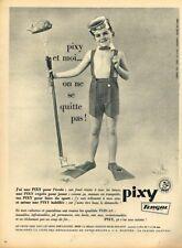 A- Publicité Advertising 1963 Vetements pour enfants Pixy par Dewolf