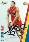 ✺Signed✺ 2015 GOLD COAST SUNS AFL Card STEVEN MAY