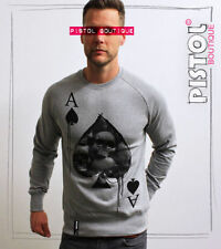Cotton Long Sleeve Graphic Regular Size T-Shirts for Men
