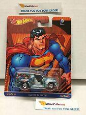 2016 DC Comics * Custom '52 Chevy * Hot Wheels Pop Culture Batman Superman E33