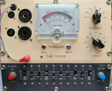 Vintage Valve Vacuum Tube Tester FERROCART from the 1960's