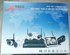 4 Kanal Sicherheitssystem mit 2 FullHD Kameras und Station