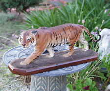 LOUIS PAUL JONAS AMERICAN ANIMAL SCULPTOR BENGAL TIGER COMPOSITION FIGURE S/N