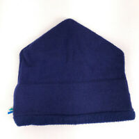 Vintage Turtle Fur winter hat ski cap Made USA Stowe Vermont blue knit hbx12