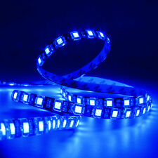 SUPERNIGHT® Blue 5M 16.4ft 300Leds 5050 SMD LED Strip Light Black PCB waterproof