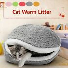 Pet Cat Bed Soft Puppy Cushion House Warm Kennel Sleeping Mat Pad Blanket Cave