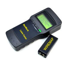 SC8108 CAT5 RJ45 Netzwerk LAN Länge Telefon Kabel Lage Tester Meter Kabeltester