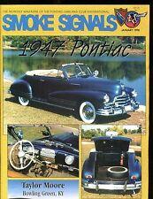 Smoke Signals Magazine January 1998 1947 Pontiac EX ML On Back 011617jhe