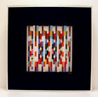 YAACOV AGAM  Agamograph Signed, Numbered and Framed