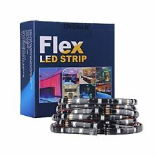 5m Waterproof 5050 SMD RGB LED Flexible Strip Lights 150 LEDs With 44 Key Remote