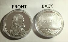 Jesus, The Last Supper, 1 oz coin/token Finished in 999 Fine Silver. Religion