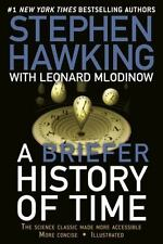 A BRIEFER HISTORY OF TIME  - LEONARD MLODINOW STEPHEN W. HAWKING *FREE SHIPPING!