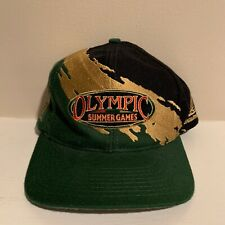 VTG Atlanta 1996 Summer Olympics Logo Athletic Splash Snapback Hat OSFA