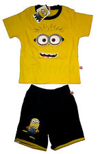 Kids Despicable Me Minions costume party outfit set Size L Age 5 yrs