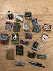 LOT/BUNDLE OF 21 Assorted Russian Pins