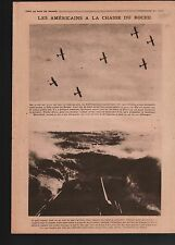 WWI Submarines Yacht Planes US Air Force/Vladivostok Russia 1918 ILLUSTRATION