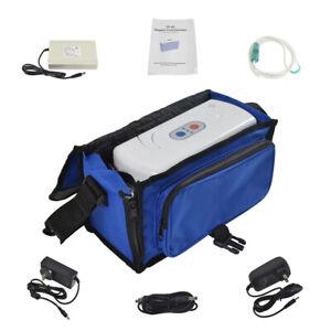 NEU Mobiler Oxygen Konzentrator Sauerstoffkonzentrator Sauerstoffgerät Tragbare