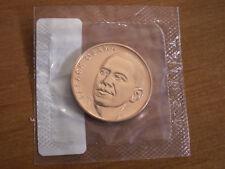 USA : Médaille officelle en bronze BARACK OBAMA 1er Mandat - scellé - 33,33 mm