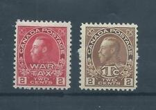 Canada stamps. 1915 GV 2c War Tax MH plus (D563)