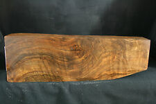 EXHIBITION GRADE CIRCASSIAN WALNUT GUN STOCK BLANK AND FOR ARM.AIR DRY