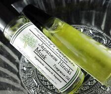 Women's JAPANESE HINOKI MUSK Roll On Perfume Fragrance Jasmine Rose Vanilla