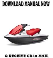 Kawasaki STX-15F Jet Ski JT1200-A1 Repair Shop Service Manual on CD