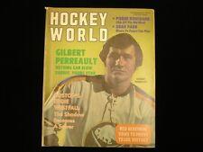 December 1971 Hockey World Magazine - Gilbert Perreault Cover