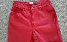 Women's Red ST. John's Bay Stretch Classic Jeans Sz. 8T (EUC)