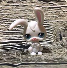 Littlest Pet Shop White Bunny Rabbit Blue Eyes Pink Ears LPS #49 Easter 99?