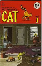 Fat Freddy's Cat (Rip Off Press, 1977 series) #1 [7th print] Variant $1.50 Cover