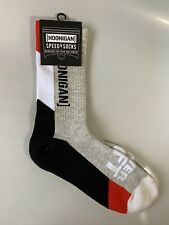 Ken Block HOONIGAN - Official Track Day Crew Speed Socks Black/Grey/Red - NWT
