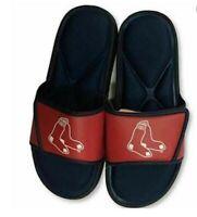 Forever Collectibles Boston Red Sox Men's Logo Slide Flip Flop