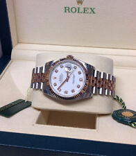 Rolex Stainless Steel Case Adult Watches with 12-Hour Dial
