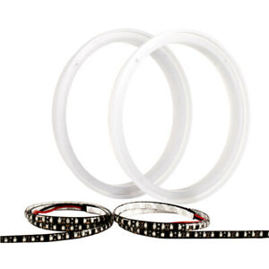 "WET SOUNDS REV8 RED LED RING PAIR FOR 8"" COAX SPEAKERS 808 LED KIT"