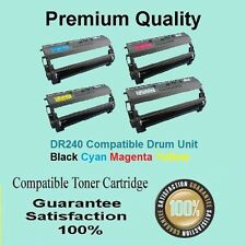 4x Compatible with Brother DR 240 DR240 CL Drum unit DCP 9010CN HL 3075CW
