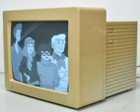 "Apple A2M6016 12"" CRT Monochrome Computer Monitor 1988 Vintage"