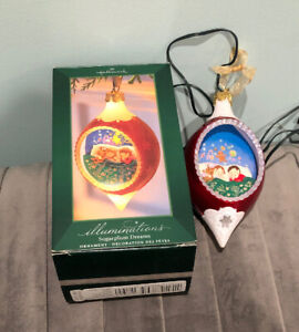 2005 Hallmark Illuminations Ornament Sugarplum Dreams 015012886535