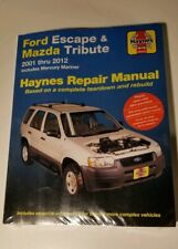 HAYNES REPAIR MANUAL # 36022 FORD ESCAPE AND MAZDA TRIBUTE '01-'12 BRAND NEW E2