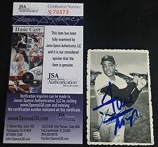 HOF WILLIE MAYS 1969 TOPPS DECKLE EDGE SIGNED AUTOGRAPHED CARD #33 JSA CERTIFIED