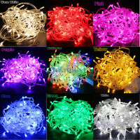 10M 20M LED Fairy Christmas Tree String Lights Party Waterproof+Plug+Controller