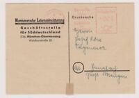 BUND / AFS , München, Hannoversche Lebensversicherung, 4.10.48, Faltbrief