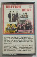 British Beat Cassette 1987 K-tel International British Rock The Kinks Tape